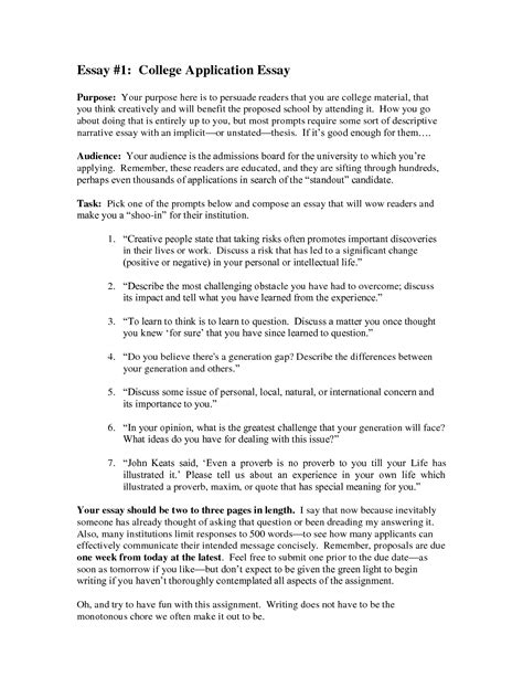 Using Dialogue in Your Application Essay | CollegeXpress